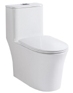 Tangdao bathroom ceramic siphonic sanitary ware Peeping Chinese toilet modern washdown S-trap one piece toilet