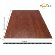 Fireproof PVC Veneer,interior decorative wood grain pvc wall panel