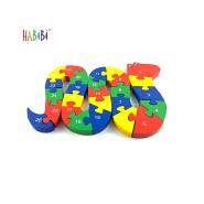 New original Wooden Toys Puzzle Numbers Alphabet Blocks Shape Animal Kids Educational Wooden Puzzle