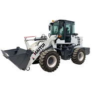 2 ton loading capacity mini wheel loader ZL928A with CE certificate