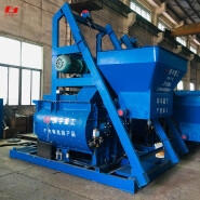 The discharge capacity 1000L concrete mixer productivity 50m3/h,cement mortar mixer