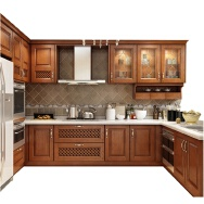 Dawn Forests Wood Industrial Shouguang Co., Ltd. Solid Wood Cabinets