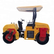 China 3 ton double drum asphalt road roller for sale
