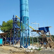 HZS25 Small Portable Stationary Concrete Batching Plant