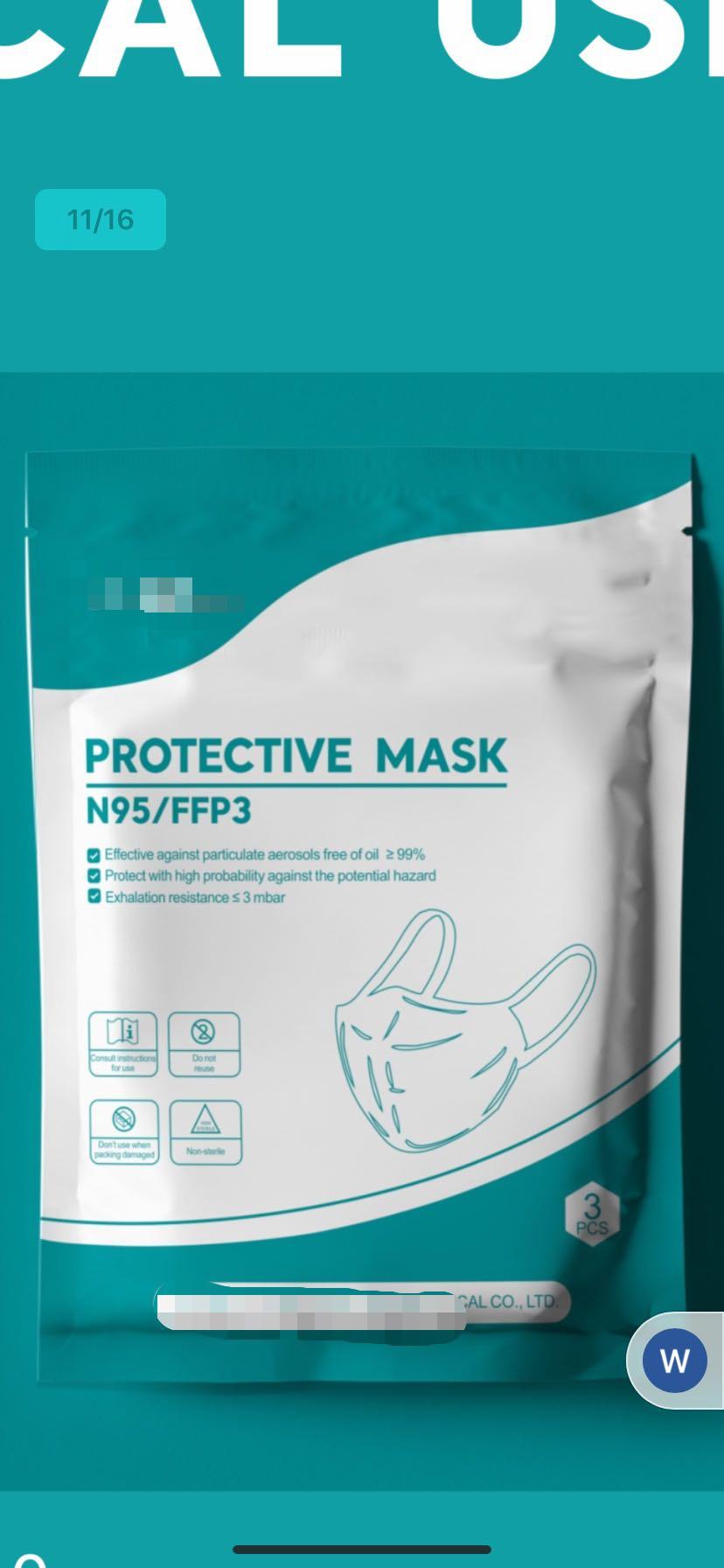 mask FFP3