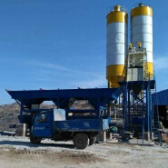 High quality HZS25 stationary hopper lift fully automatic advanced electrical concrete batching plant