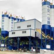 Thailand small capacity ready - mixed belt conveyor HZS60 stationary concrete batching plant for sale