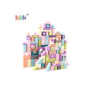 Promotional Price Wooden Toy Kids Blocks Natural Set Educational Toy Custom Kids Wooden Building Blocks