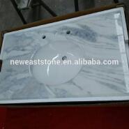 China dream white onyx marble countertop white bathroom vanity tops