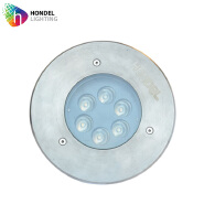 recessed light 6W RGB LED Underground / Inground Light IP65