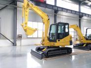 China Brand Haitui 6 tons Small Digger Mini Crawler Excavator for sale