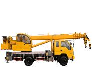 Telescopic Boom 8T Foton Truck Mounted Crane For Sale