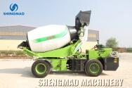 Henan Shengmao Machinery Co., Ltd. Concrete Mixer