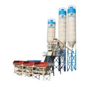 HZS25 Mini Stationary Concrete Batching Plant For Sale