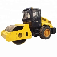 China construction machinery 10 ton single drum vibratory road roller