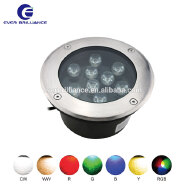 9w outdoor uplight rgb led in-ground driveway in ground lights