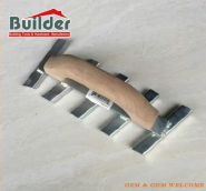 Wood Handle Steel Control Joint Groover