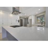 Man-made white star sparkle quartz stone countertops for kitchen 018