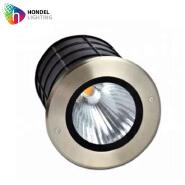 Outdoor IP67 waterproof COB led underground light 30W Round type