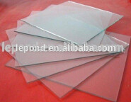ultra thin clear float glass/ultra thin tempered glass LP005
