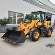 China 2 ton mini wheel loader small front end loader with CE