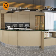 Customized easy to repair artificial stone counter top for Kitchen