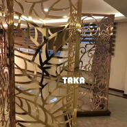 customized hotel or shopping mall decoration curtain wall 105