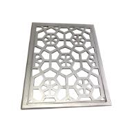 Building Decorative Laser Cutting Aluminum Metal Hollow Design Wall Screen