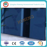 4-6mm Dark Blue Reflective Glass with Ce/So Certificate