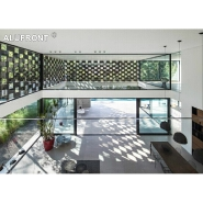 Aluminum Grille Decorative Wall External wall cladding curtain wall price facade panel