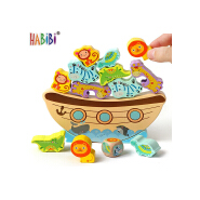 Factory Hot Selling Educational Coloful Balancing Kids Wooden Balance Toy Balance Wood Game Wooden Scale Toy