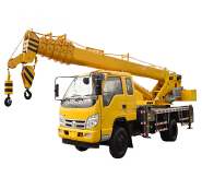 Best Selling In Europe And America 8T Foton Truck Mounted Crane
