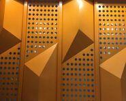 Pop Design Metal Decorative Material Aluminum Perforated Interior Screen
