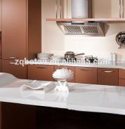 environmenty luxury white quartz artificial stone for hotel kitchen countertops or island benchtop 019