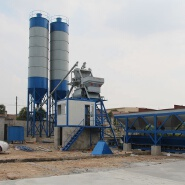 HZS25 universal modular new brand low cost wet mix stationary mini concrete batching plant for sale