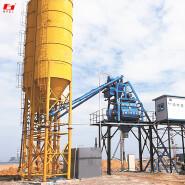 hzs50 cement plant automatic concrete batching plant 50m3/h Pass CE certification