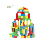 Quality Goods Wooden Building Blocks City Wood Montessoir Wooden Educational Toys Shapes Block Geometric