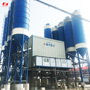 Domestic advanced level The most popular HLS180 large-scale concrete mixing plant Cement component products factory