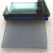 Super Quality 1 Mm Color Float Glass Sheet European Gray Glass