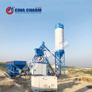 reasonable price HZS 25 concrete batching plant for sale