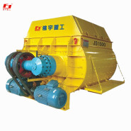 Concrete mixing plant standard mixing host,JS1500 compulsary twin shaft Concrete Mixer