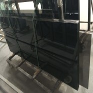 8+12A+8 mm smoke grey coated insulated glass with CE SGCC AS/NZS certificate