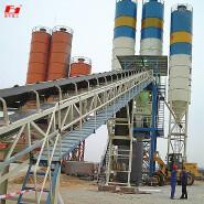 Construction site large HZS90 rapid installation of concrete mixing plant Foshan FOYU Heavy Industry CO.,LTD.