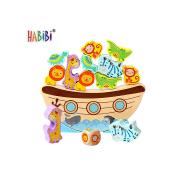 Hot Sale Educational Coloful Balancing Kids Wooden Balance Scale Toy Game Wooden Balance Educational Toy