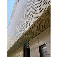 Foshan Metal Wall Cladding Aluminum Facade Decorative Wall Panel