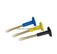 Chisel with Rubber Handle, Cold Chisel