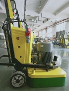 brand hy concrete surface grinding engine head and vacuum machine