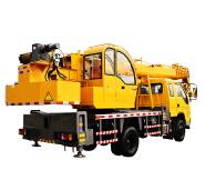 Lifing Capacity Yellow 8T Foton Truck Mounted Crane