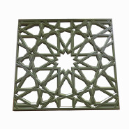 Hot Selling Metal Building Decorative Laser Cut Wall Screen For Exterior