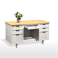 Cheap Furniture Knock Down Used retro round rustic office desk